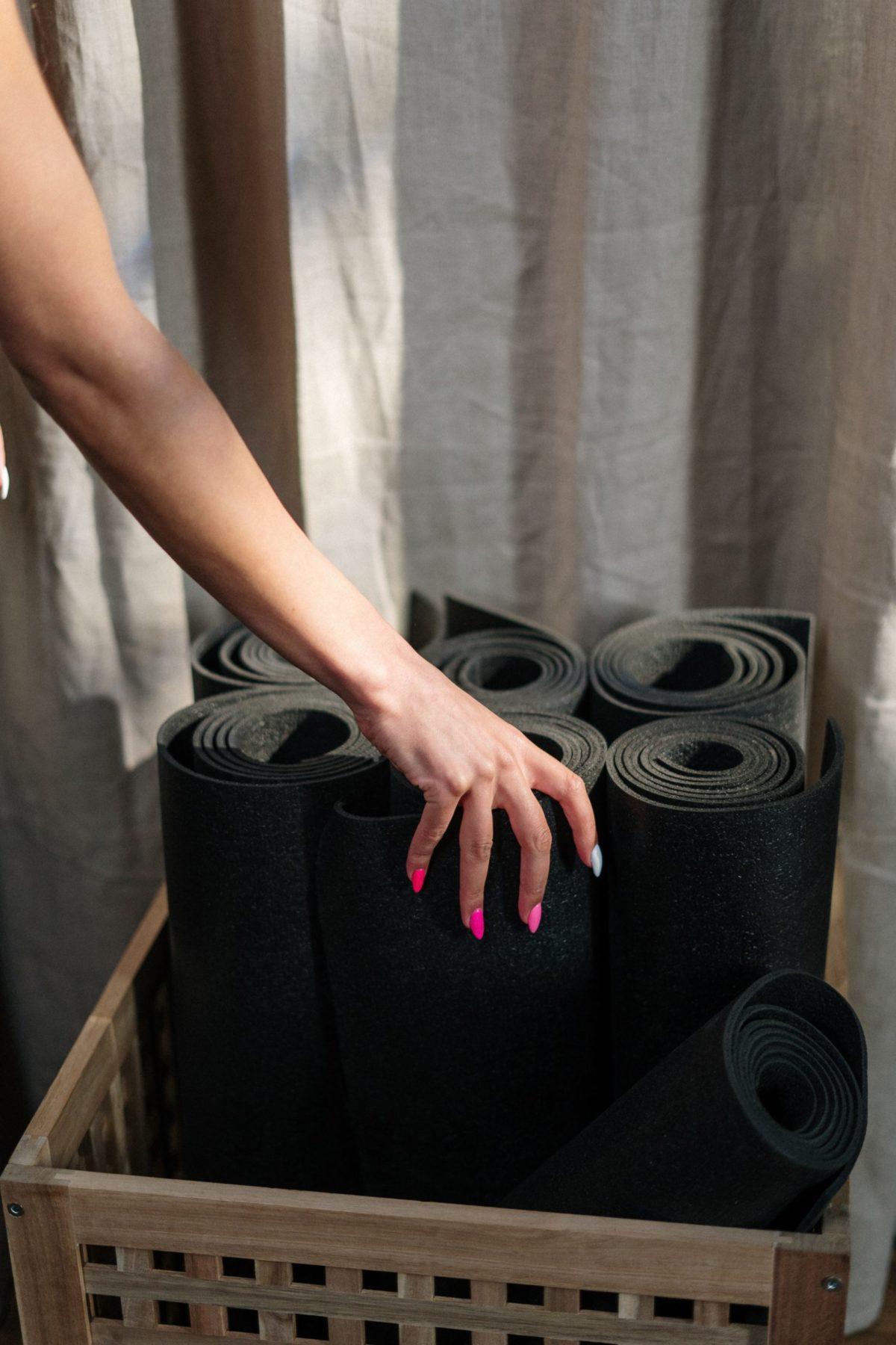 Schadstofffreie Yogamatte