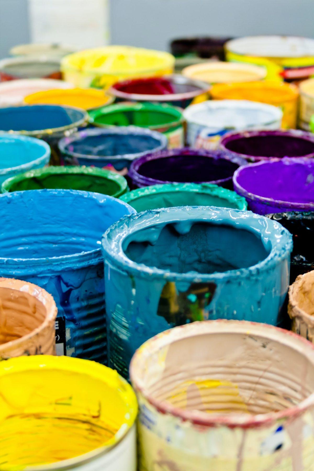 Schadstofffreie Wandfarbe