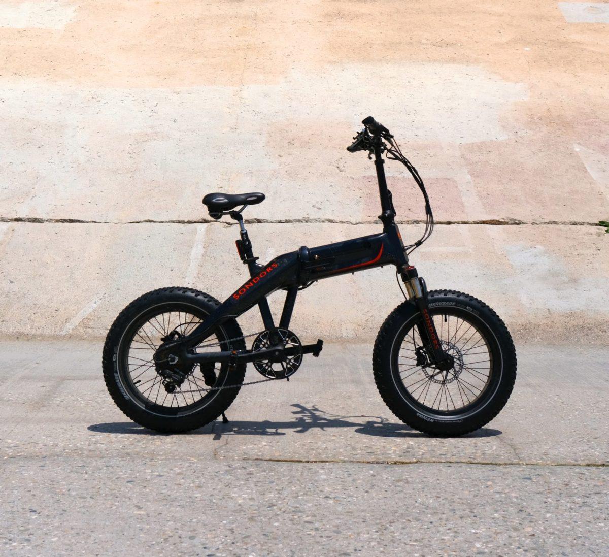 E-Bike mit geringem Gewicht