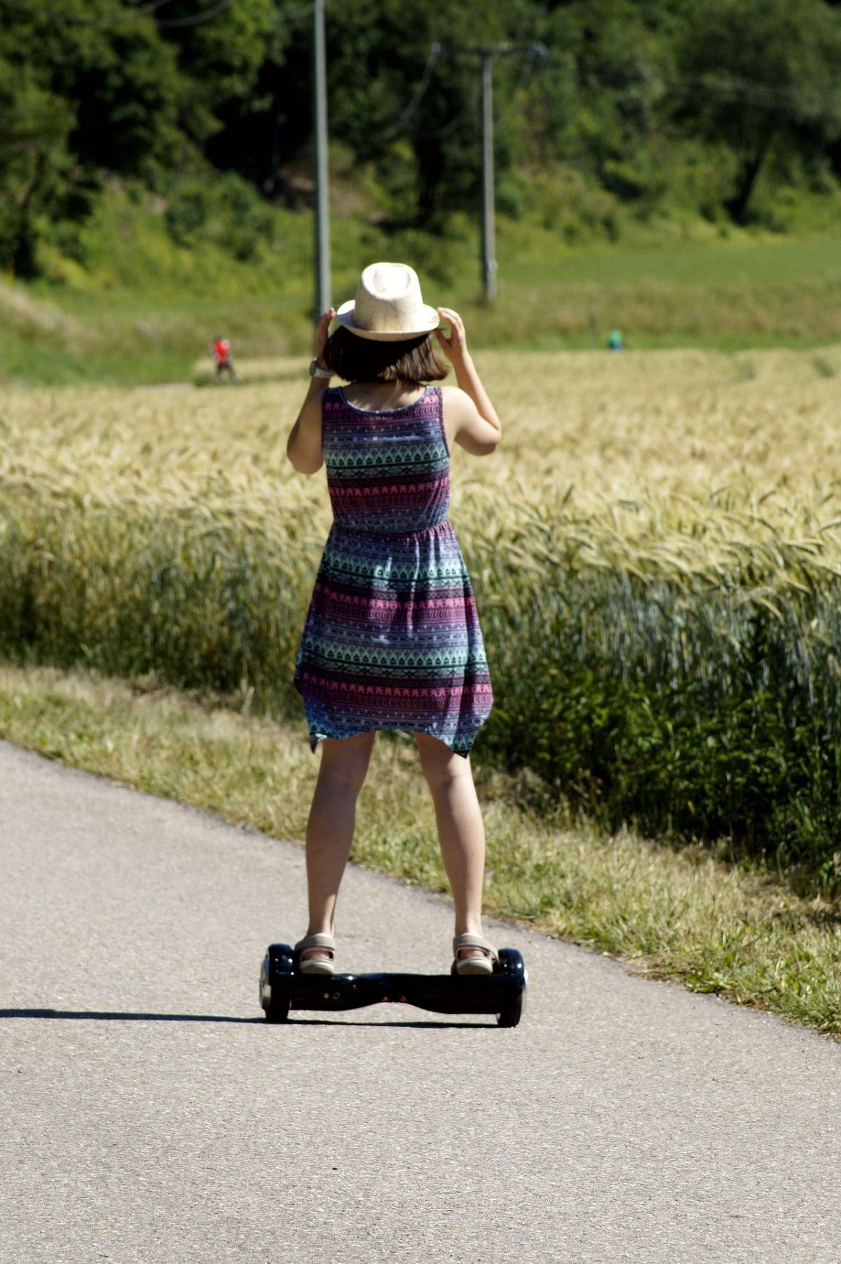 Hoverboard mit Sitz