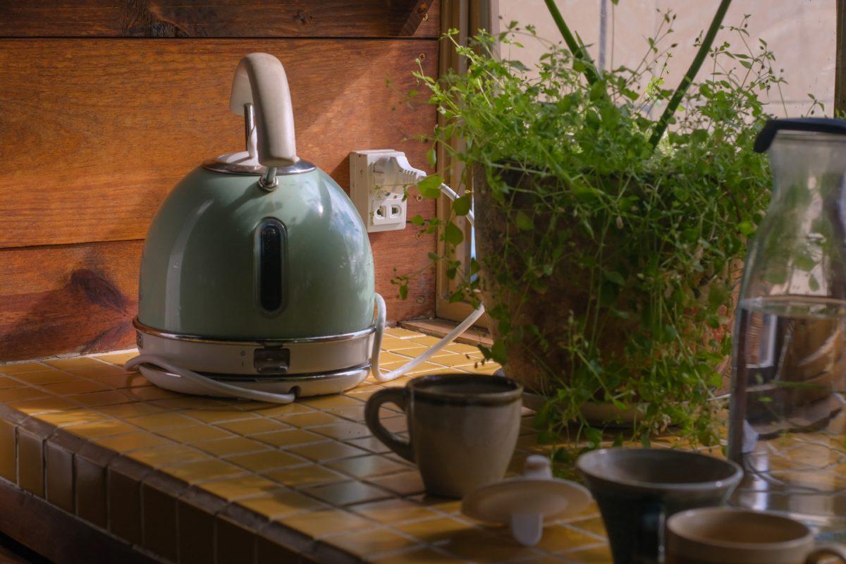 Wasserkocher energiesparend